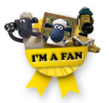 I'm a fan of Shaun the Sheep!